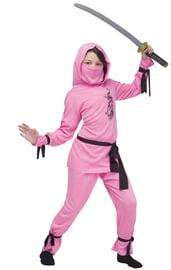 Детский костюм розовой ниндзя