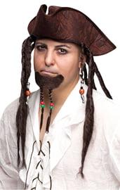 Шляпа и борода Джека Воробья