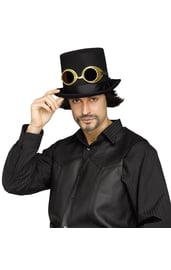 Шляпа и очки Стимпанк