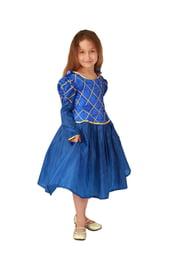 Детский костюм синей принцессы