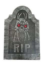 Надгробие с демоном