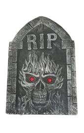 Надгробие с красными глазами