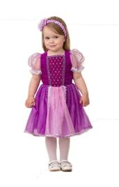 Детский костюм принцессы Рапунцель