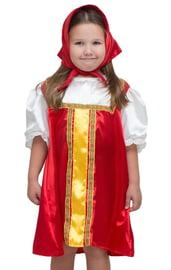 Детский русский плясовой красный костюм