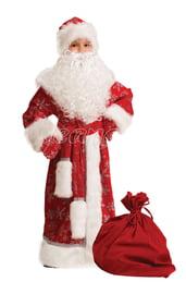 Детский костюм Дед Мороз Велюровый