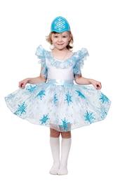 Детский костюм Голубой Снежинки