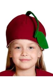 Детская шапка Вишня