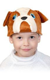 Детская маска Бульдога