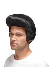 Черный парик Элвиса