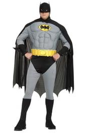Костюм Бэтмена с мышцами на груди