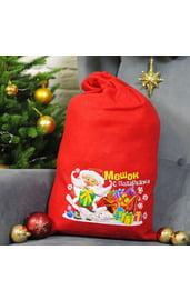Мешок для подарков с рисунком