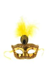 Золотая маска с пером