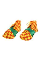 Мягкие клоунские ботинки