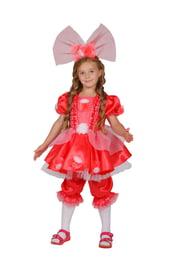 Детский костюм Куклы Тутси Коралловой