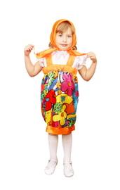 Детский костюм Желтой Матрешки