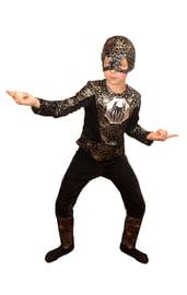 Детский костюм Черного Человека Паука