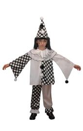 Детский костюм Грустного Пьеро
