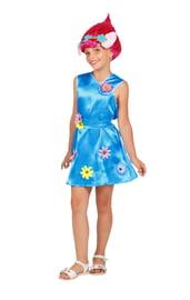 Детский костюм Тролля Розочки