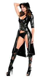 Черный готичный костюм Ассасина