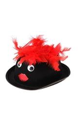 Черная шляпа с глазами