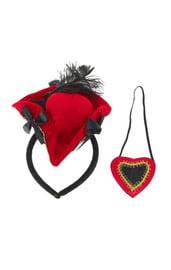 Шляпка и наглазник пиратки