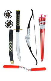 Набор оружия ниндзя с луком