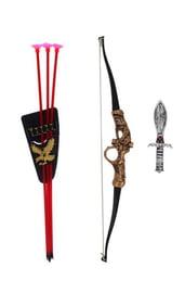 Набор оружия рыцаря с луком
