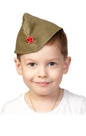 Детская пилотка со звездой