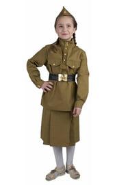 Детский костюм Девочки военной