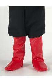 Детские красные сапоги