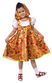 Детский костюм Матрешки Хохлома