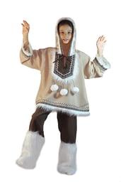Национальный костюм мальчика эскимоса