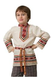 Рубашка со славянскими мотивами