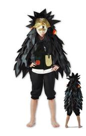 Детский костюм черного ежика