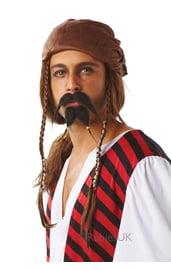 Бородка и усы пирата