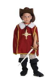Детский костюм Красного Мушкетера