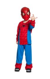 Детский костюм красного Спайдермена