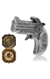 Пистолет и компас пирата