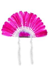 Фиолетовый головной убор индейца