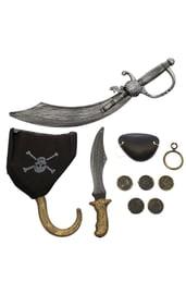 Набор пирата 9 предметов
