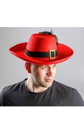 Красная шляпа мушкетера
