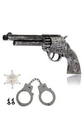 Серебряный набор шерифа