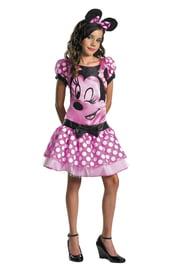 Детский костюм розовый Минни Маус