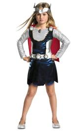 Костюм Тора для девочки