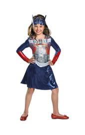 Детский костюм Трансформера девочки