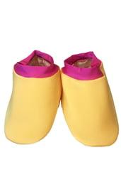 Имитация обуви детского желтого Ремонтника