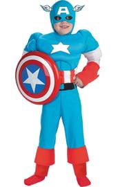 Детский костюм Капитана Америки Marvel