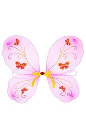 Детские крылья с бабочками