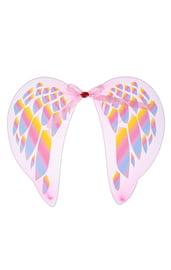 Розово-голубые крылья