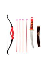 Черный набор лучника 7 предметов